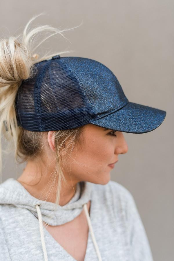 GlitterGlam Ponytail Caps - Great for high ponytails   messy buns ... 2f0f1886e3b