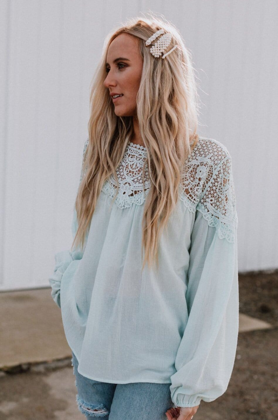 Image of Daydreaming Crochet Top