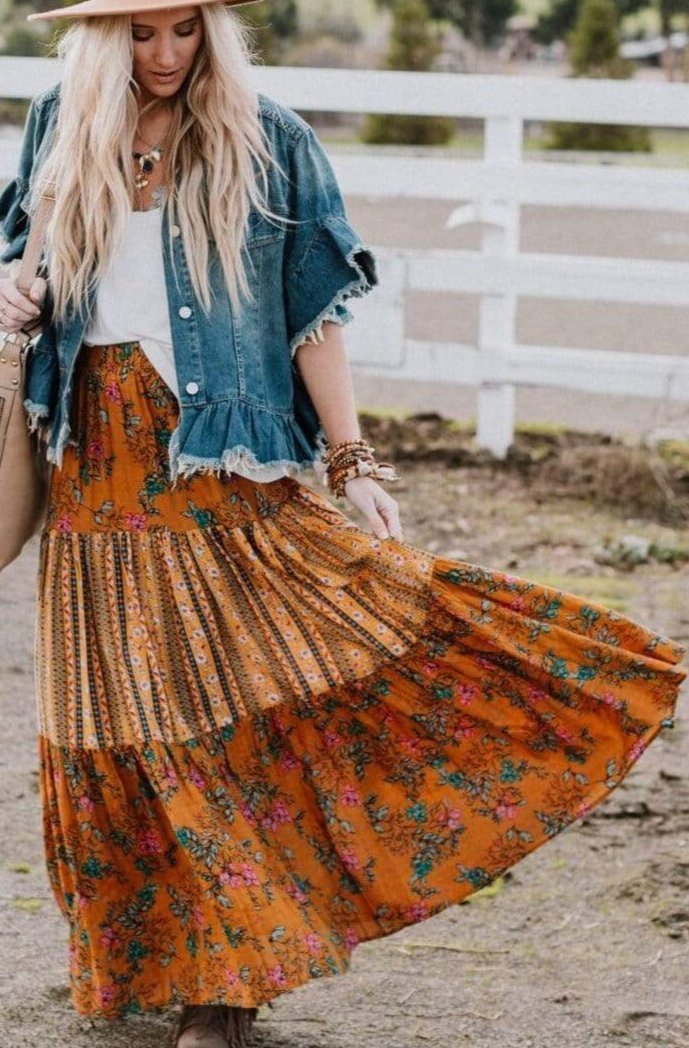 Image of So Beautiful Maxi Skirt