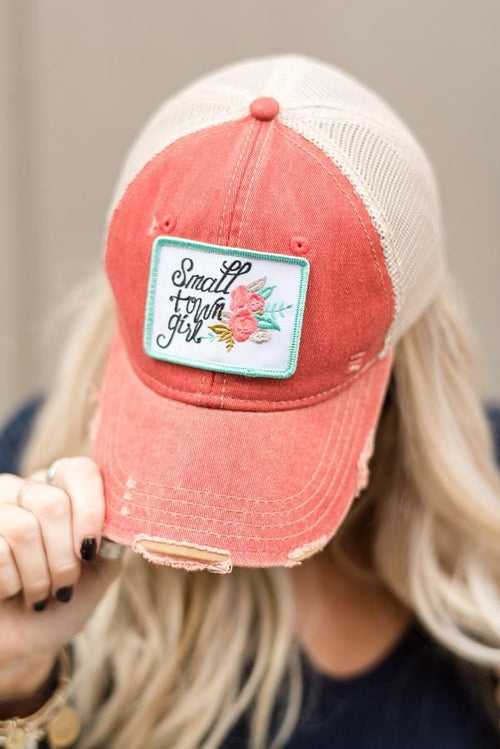 Small Town Girl Baseball Hat