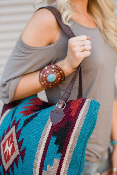 Southwestern Carpet Oversized Handbags