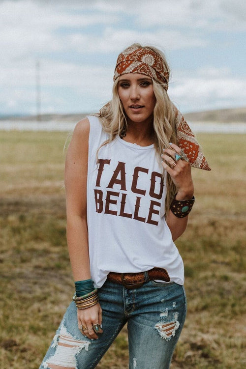 Taco Belle Graphic Tee T-Shirt Tanks