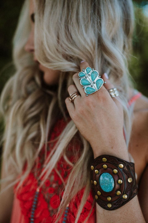 Star Valley Turquoise Ring