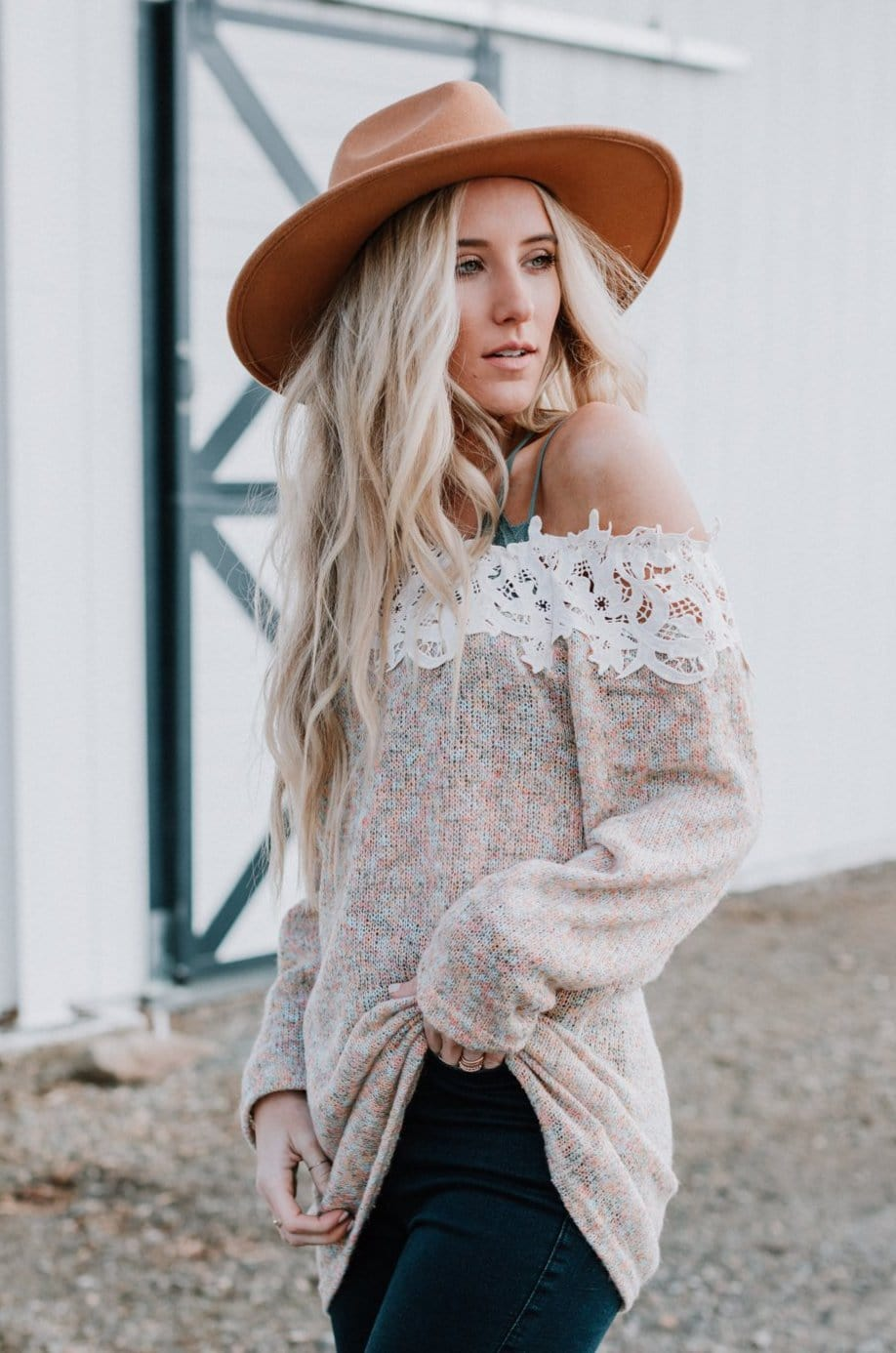Image of Lanie Lace Sweater