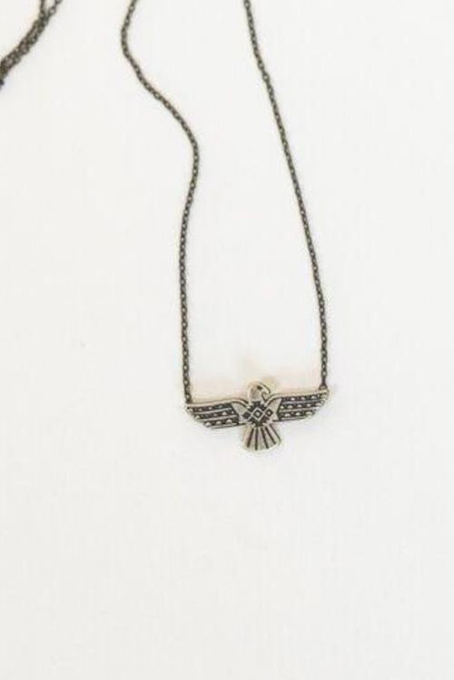 Little Charm Thunderbird Necklace