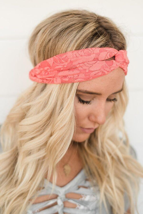 Lovely Lace Twist Turband