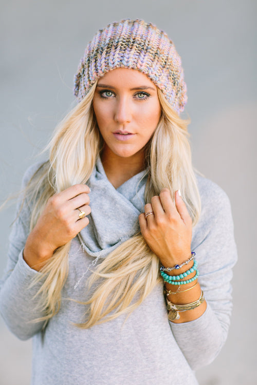 Rainbow Magic Knitted Beanie