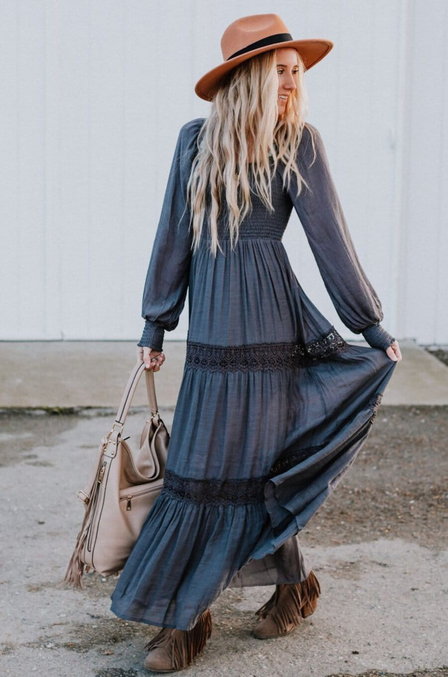 Image of Calvin Tiered Maxi Dress
