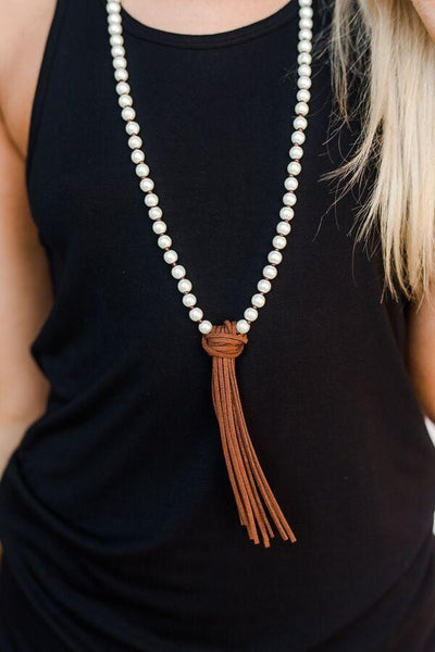 Fringe Layering Necklace