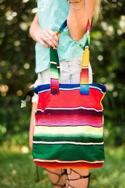 Serape Purse Bag - Mexican Bohemian Boho Bags from Three Bird Nest