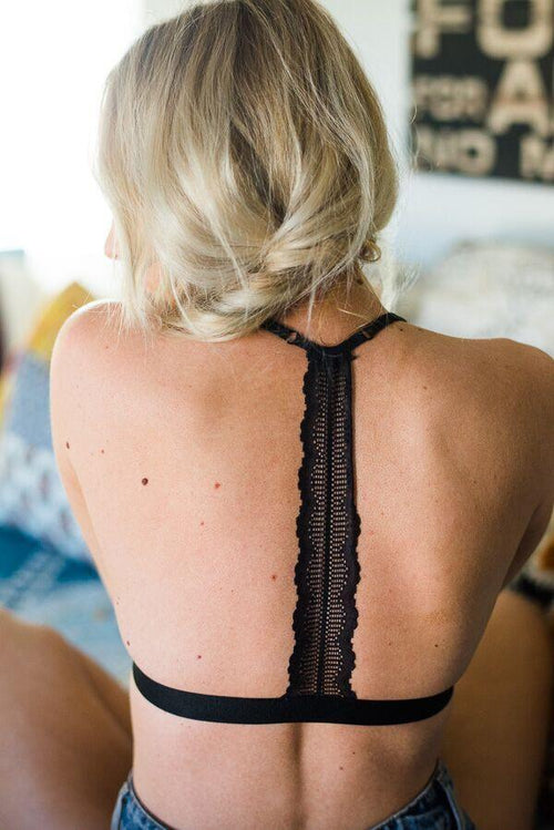 Triangle T-Back Bralette
