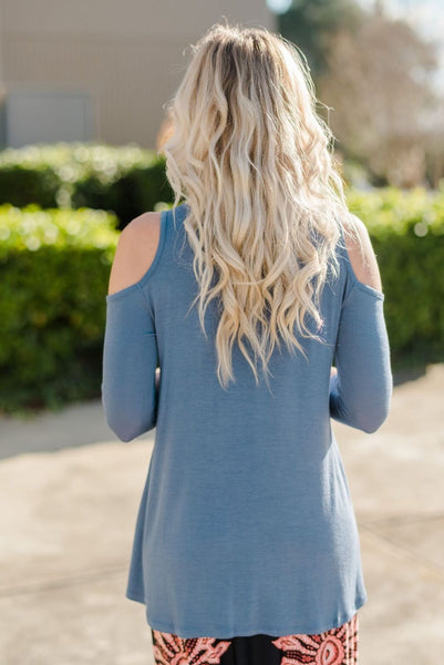 Picture of Back of Open Shoulder Tops