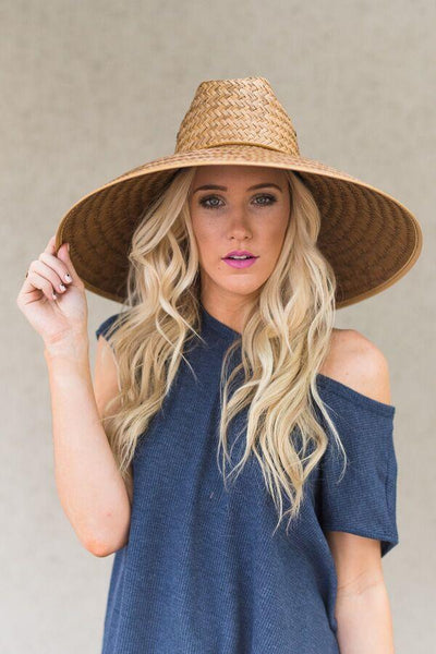 women's cute shade hat with wide brim