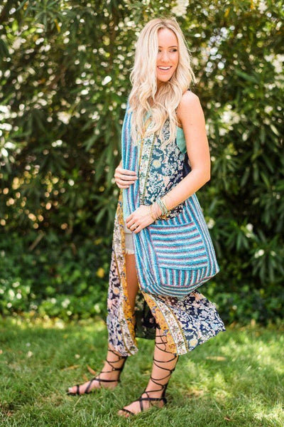 Outfit Ideas Bohemian Bags and Mexican Blankets, Purses from Three Bird Nest Close Up