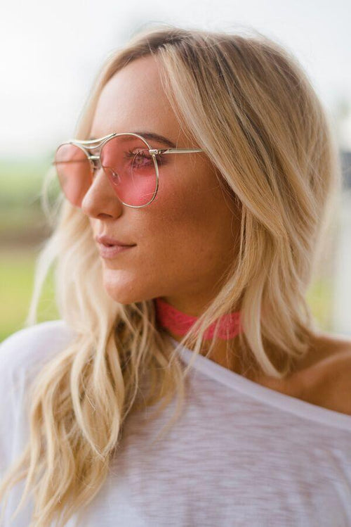 Pink Shades Sunglasses