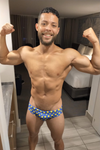 Polka Dot Party Men's Swim Brief