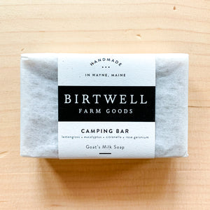 Camping Bar Goat Milk Soap