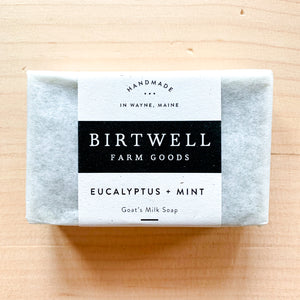 Eucalyptus + Mint Goat Milk Soap
