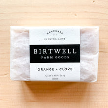 Load image into Gallery viewer, Orange + Clove Goat Milk Soap