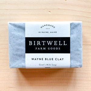 Wayne Blue Clay Goat Milk Soap