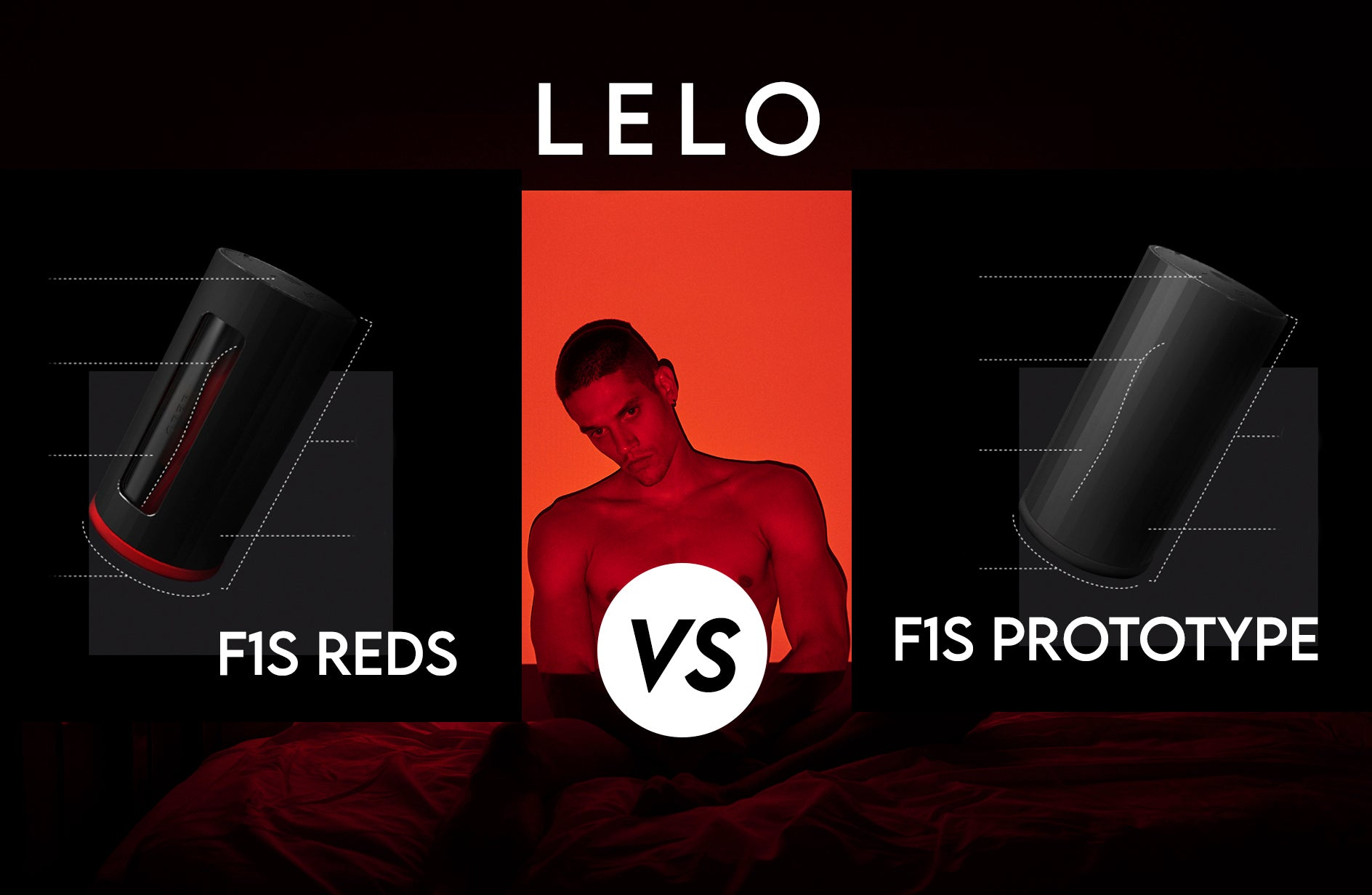 Difference Between LELO's F1s Reds & F1s Prototype
