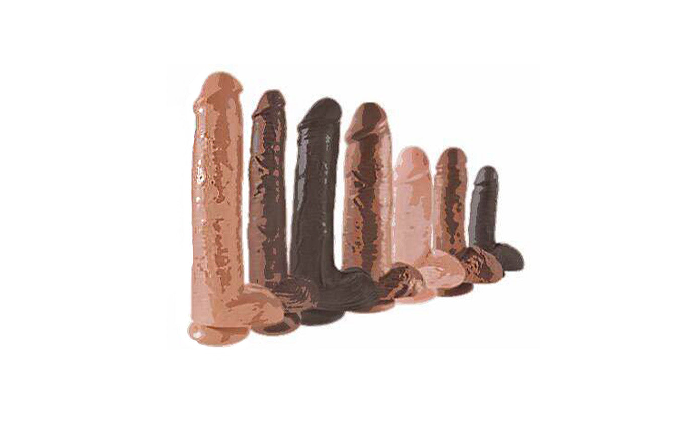 Size Matters | What are the Different Sizes for Realistic Dildos?