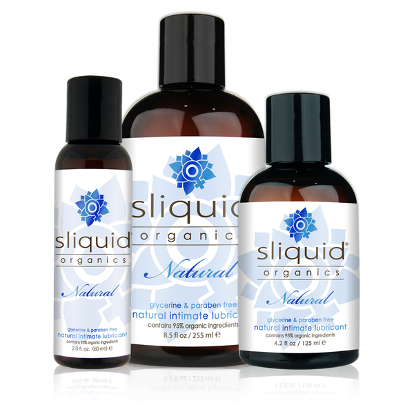 Sliquid - Botanically Infused Natural Intimate Glide Lubricant 125ml (Lube)