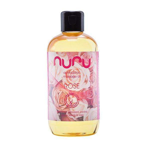 Nuru - Aphrodisiac Massage Oil Rose 250ml