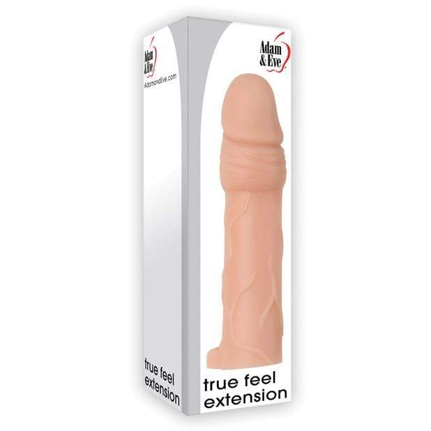 "Adam & Eve - True Feel Penis Extension 2.25"" (Beige) 