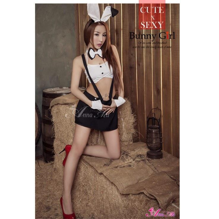 Anna Mu - Cosplay Costume Theme Party NA15030109 (Black) | CherryAffairs Singapore