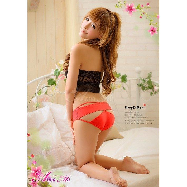 Anna Mu - Cutey Panties NA13010028-1 (Red) | CherryAffairs Singapore