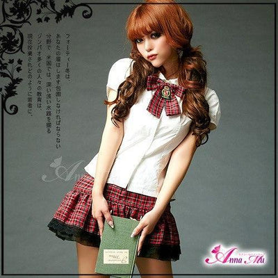 Anna Mu - School Sweet Heart xNA11030168 (White) Costumes - CherryAffairs Singapore