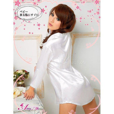 Anna Mu - Theme Party NA11030237 (White) | CherryAffairs Singapore