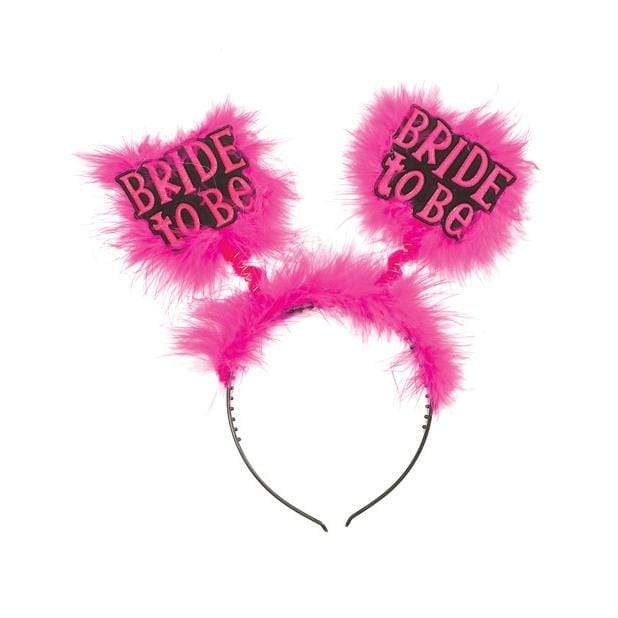 Bachelorette Party - Bride to Be Head Band (Pink) Bachelorette Party Novelties
