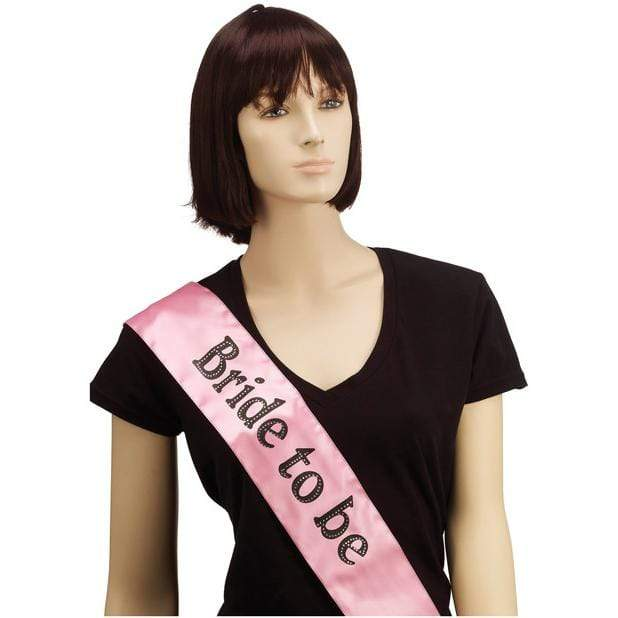 Bachelorette Party - Bride to Be Party Sash (Pink) Bachelorette Party Novelties