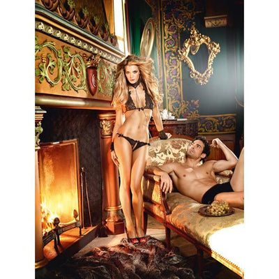 Baci - Lace Love Slave Costume Set One Size | CherryAffairs Singapore