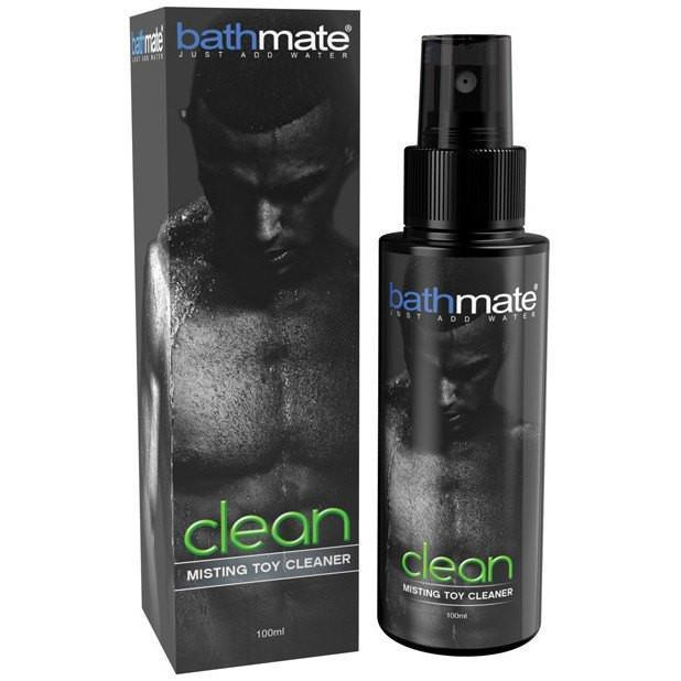 Bathmate - Clean Misting Toy Cleaner 100ml (Black) | CherryAffairs Singapore