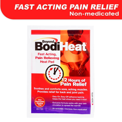 Beyond Bodi Heat - Non Medicated Heat Pack Single (White) Body Care Singapore