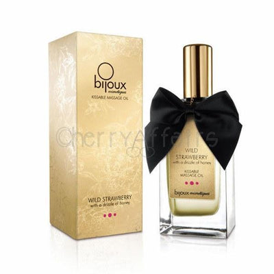 Bijoux Cosmetiques - Wild Strawberry Massage Oil | CherryAffairs Singapore