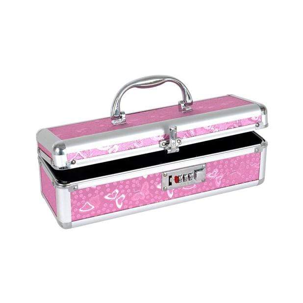 BMS - Stylish Lockable Toys Stoage Box (Pink) Storage Box 677613099167 CherryAffairs