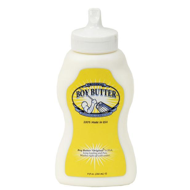 Boy Butter - Original Silicone Based Lubricant Squeeze Bottle 9 oz | CherryAffairs Singapore