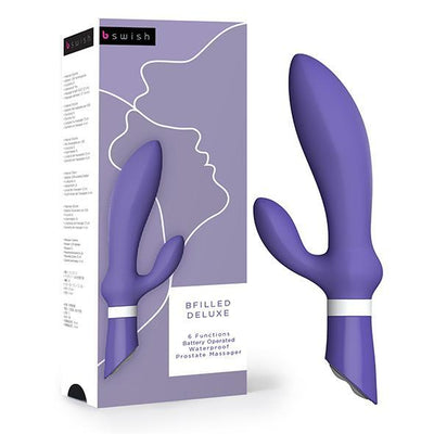 Bswish - Bfilled Deluxe Prostate Massager (Purple) Prostate Massager (Vibration) Non Rechargeable Singapore