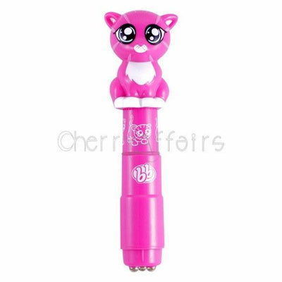 BzzzBuddies - Frisky Personal Vibrator (Pink) Non Realistic Dildo w/o suction cup (Vibration) Non Rechargeable - CherryAffairs Singapore