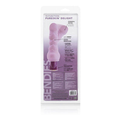 California Exotics - 10-Function Pure Bendie Vibrator (violet) | CherryAffairs Singapore