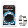 California Exotics - Alloy Metallic Cock Ring Extra Large (Silver)
