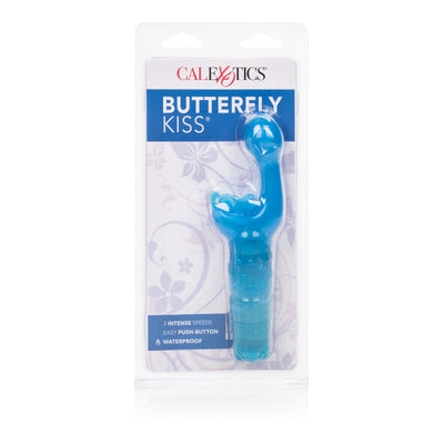 California Exotics - Butterfly Kiss Clit Massager (Blue) Clit Massager (Vibration) Non Rechargeable Singapore