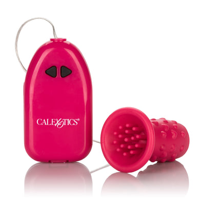 California Exotics - Classic Pleasure Kiss Clit Massager (Pink) Clit Massager (Vibration) Non Rechargeable Singapore