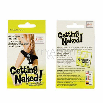 California Exotics - Getting Naked! Adult Couple Game | CherryAffairs Singapore