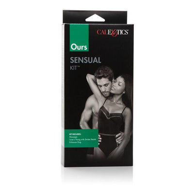 California Exotics - Ours Sensual Kit (Black) Panties Massager Remote Control (Vibration) Non Rechargeable Singapore
