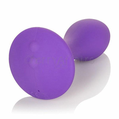 California Exotics - Sihouette S5 Rechargeable Silicone Anal Plug (Purple) Anal Plug (Vibration) Rechargeable - CherryAffairs Singapore